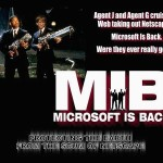 Bill Gates Men in Black style