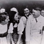 Hitler pretends he likes the girls