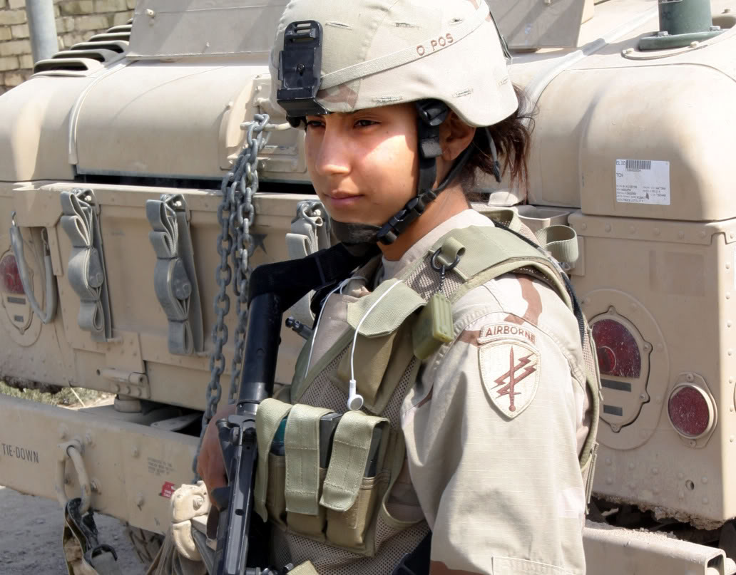 The Military Now accept Women as Soldiers