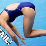 Painful diving fail