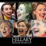 Hillary gets excited