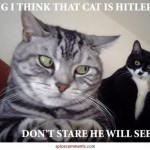 Don't stare at Hitler