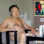 Kin Jong-il sends is congratulations to the american people