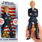 The Hillary Nut cracker, she crush the nuts between her legs