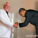 Obama Bows down to Colonel Sanders