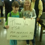 Thank you TSA for keeping my family safe!