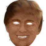 Print out for your cheap Donald Trump mask
