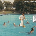 Jesus the water polo guy
